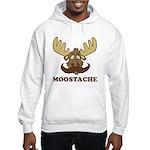 Moostache Hooded Sweatshirt