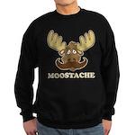 Moostache Sweatshirt (dark)