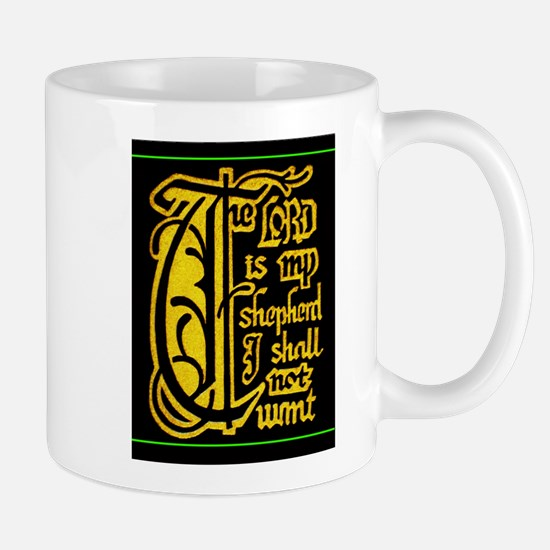 The Lord Is My Shepherd (by Moses Ashola) Mug