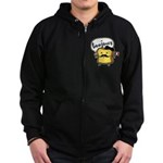 French Toast Zip Hoodie (dark)