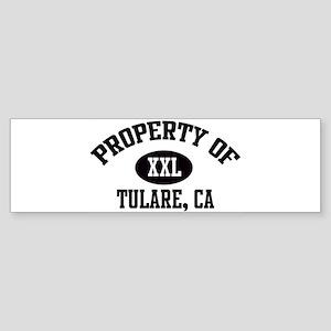 Property of TULARE Bumper Sticker