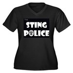 The Sting Police Women's Plus Size V-