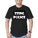 The Sting Police Men's Fitted T-Shirt