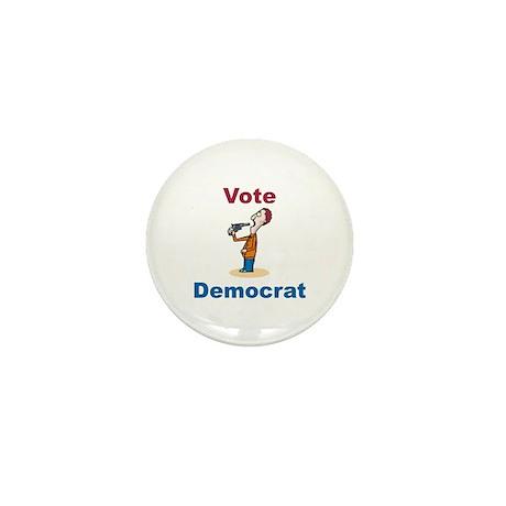 Commit Suicide, vote Democrat Mini Button (100 pac