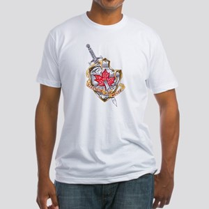 Canadian Shield Fitted T-Shirt