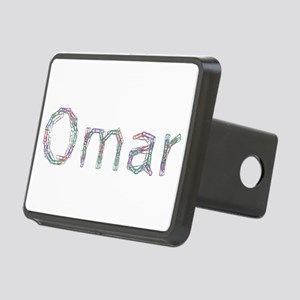 Omar Paper Clips Rectangular Hitch Cover