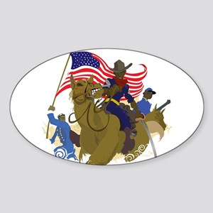 buffaloSoul Sticker (Oval)