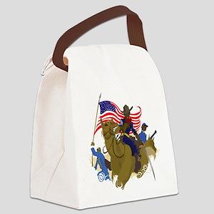 buffaloSoul Canvas Lunch Bag