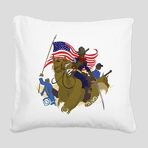buffaloSoul Square Canvas Pillow