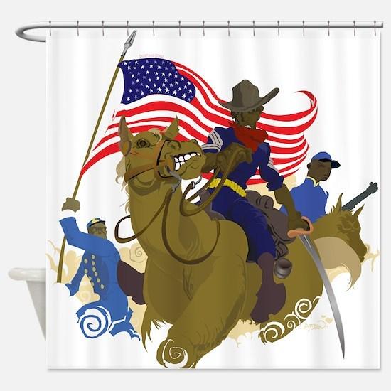 buffaloSoul.jpg Shower Curtain