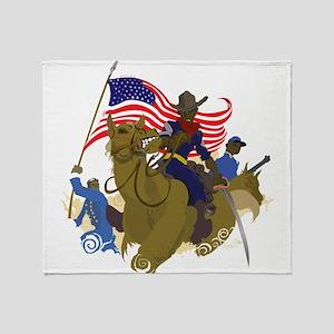 buffaloSoul Throw Blanket