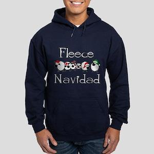 Fleece Navidad Hoodie (dark)