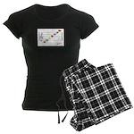 Staff C To A Png Women's Dark Pajamas