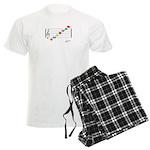 Staff C To A Png Men's Light Pajamas
