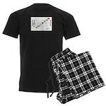 Staff C To A Png Men's Dark Pajamas