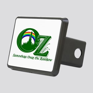 Over the Rainbow Rectangular Hitch Cover