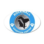 RAAC Logo 35x21 Oval Wall Decal
