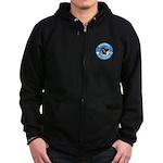 RAAC Logo Zip Hoodie (dark)