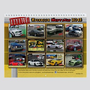 2013 Mustang T R O U B L E Wall Calendar