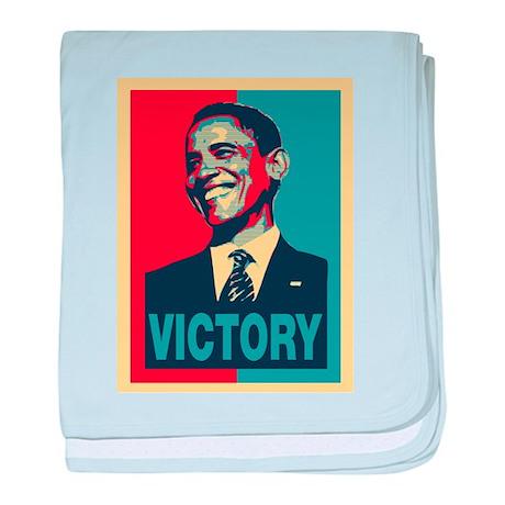 Barack Obama Victory baby blanket