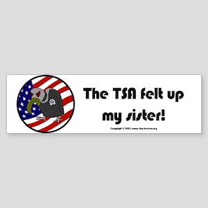 TSA/Sister Bumper Sticker