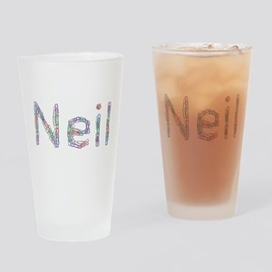 Neil Paper Clips Drinking Glass