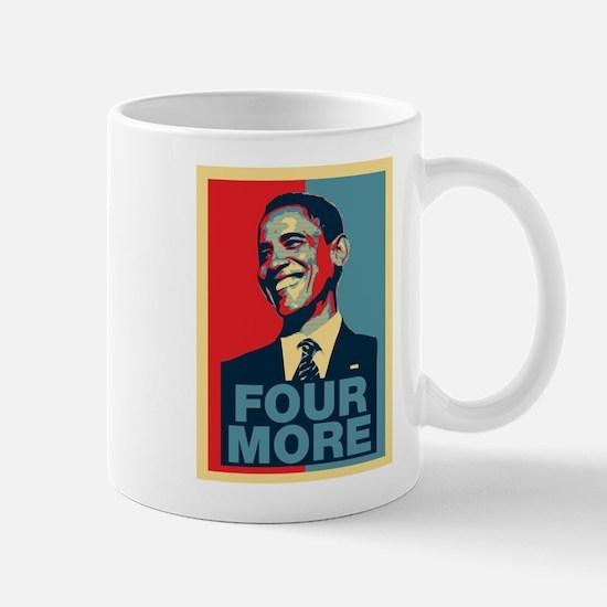 Barack Obama Four More Mug