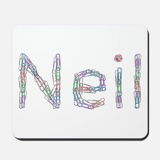 Neil Paper Clips Mousepad