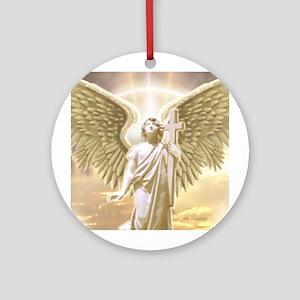Angel Gabriel Ornament (Round)