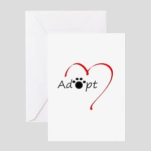 Adopt Greeting Card