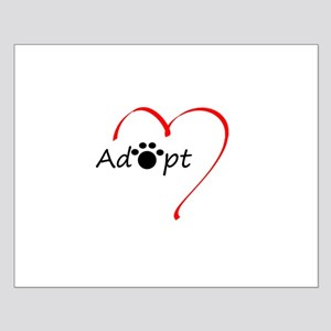 Adopt Small Poster