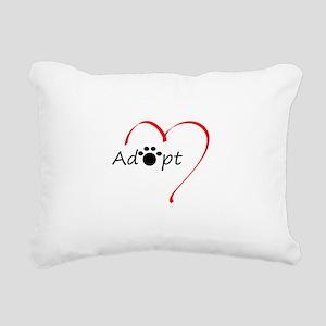 Adopt Rectangular Canvas Pillow