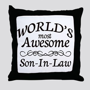 Awesome Throw Pillow
