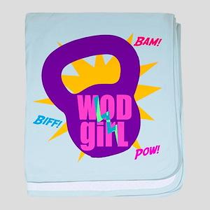 WODGirl Kettlebell baby blanket