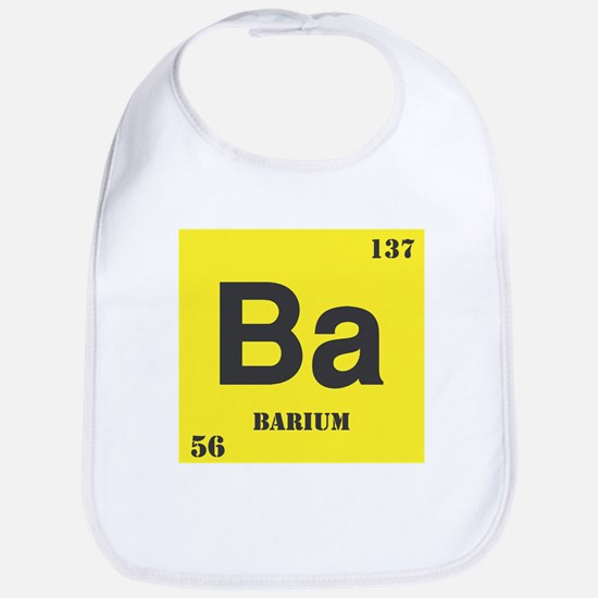 Barium Element Bib