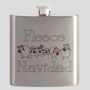 Fleece Navidad Flask