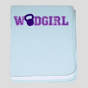 WODGirl - Kettlebell baby blanket