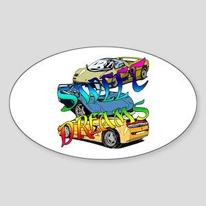 Sweet Dreams Sticker (Oval)
