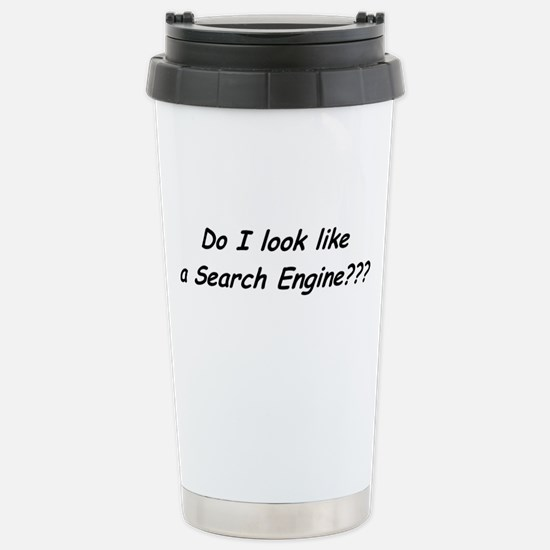 Search Engine Stainless Steel Travel Mug