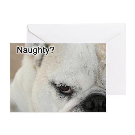 Naughty or Nice? Greeting Cards (Pk of 20)