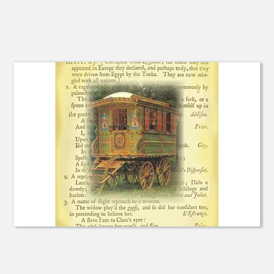 gypsy wagon 2 Postcards (Package of 8)