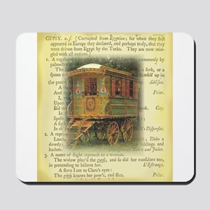 gypsy wagon 2 Mousepad