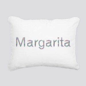 Margarita Paper Clips Rectangular Canvas Pillow