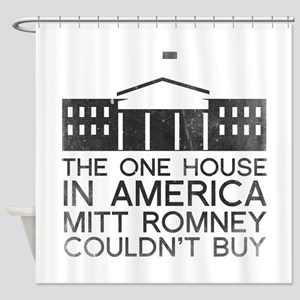 Mitt Romney White House Shower Curtain