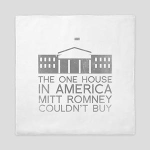 Mitt Romney White House Queen Duvet