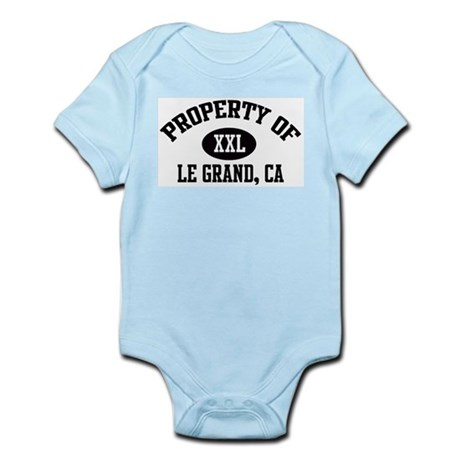 Property of LE GRAND Infant Creeper