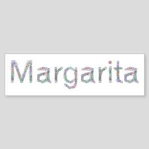 Margarita Paper Clips Bumper Sticker