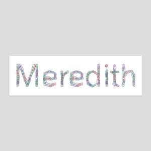 Meredith Paper Clips 36x11 Wall Peel