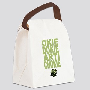 Artichokie Canvas Lunch Bag