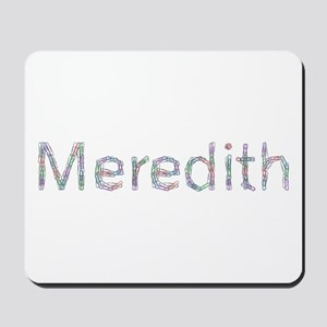 Meredith Paper Clips Mousepad